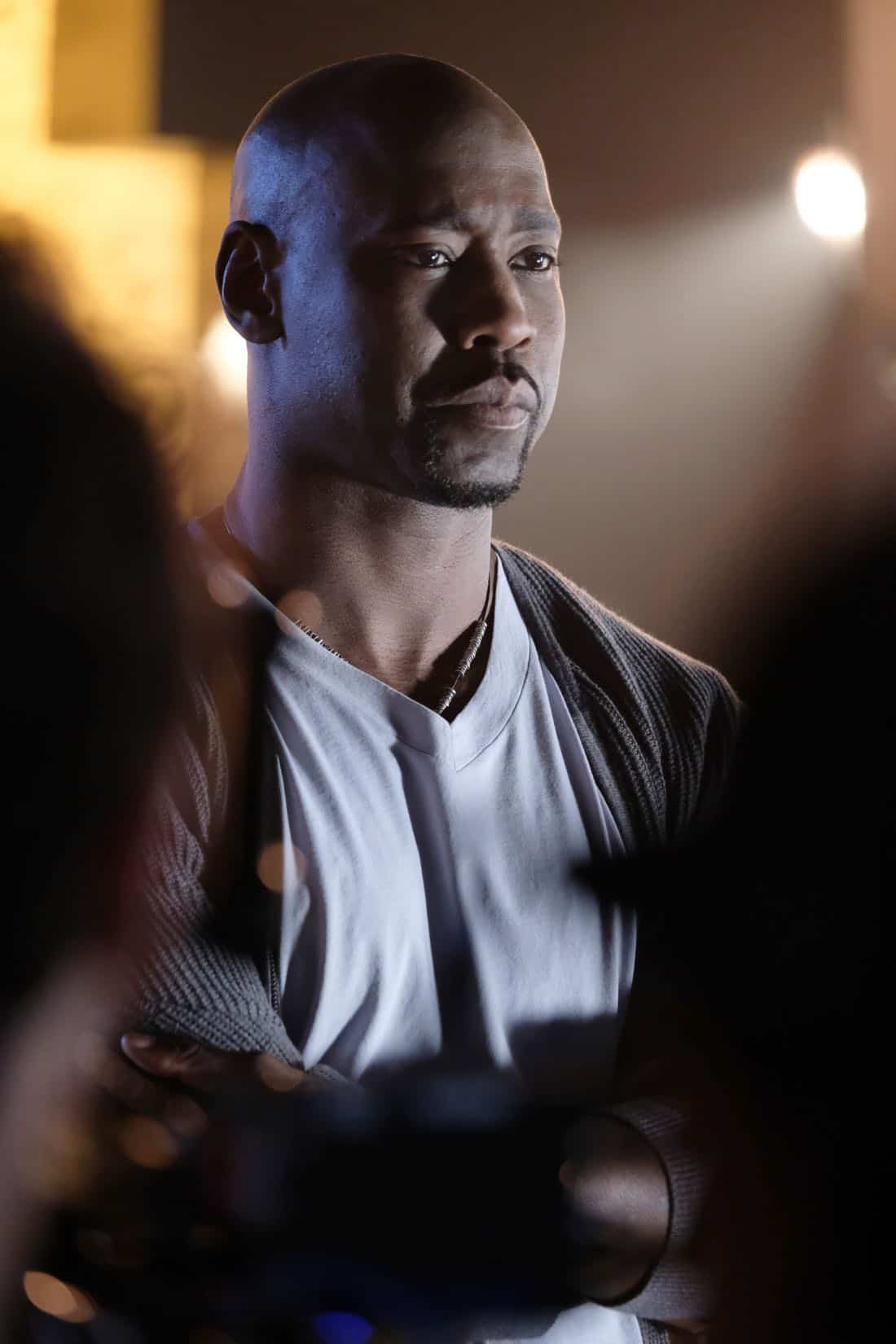 "LUCIFER: DB Woodside in the ""What Would Lucifer Do?"" episode of LUCIFER airing Monday, Oct. 23 (8:00-9:00 PM ET/PT) on FOX. CR: FOX"