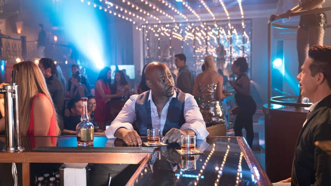 """LUCIFER: L-R: DB Woodside and Kevin Alejandro in the """"What Would Lucifer Do?"""" episode of LUCIFER airingMonday, Oct. 23(8:00-9:00 PM ET/PT) on FOX. CR: FOX"""