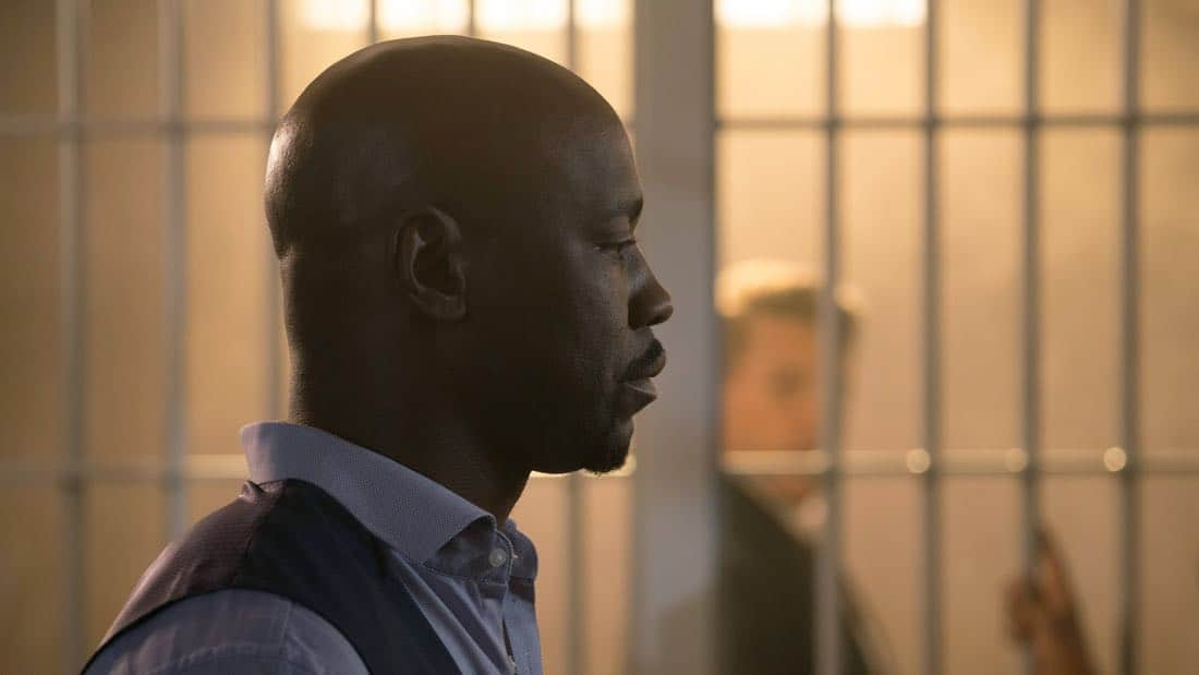 """LUCIFER: DB Woodside in the """"What Would Lucifer Do?"""" episode of LUCIFER airingMonday, Oct. 23(8:00-9:00 PM ET/PT) on FOX. CR: FOX"""
