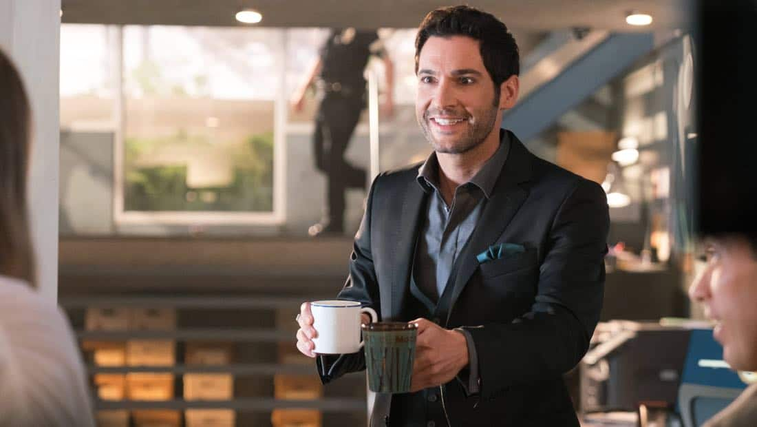 """LUCIFER: Tom Ellis in the """"What Would Lucifer Do?"""" episode of LUCIFER airingMonday, Oct. 23(8:00-9:00 PM ET/PT) on FOX. CR: FOX"""
