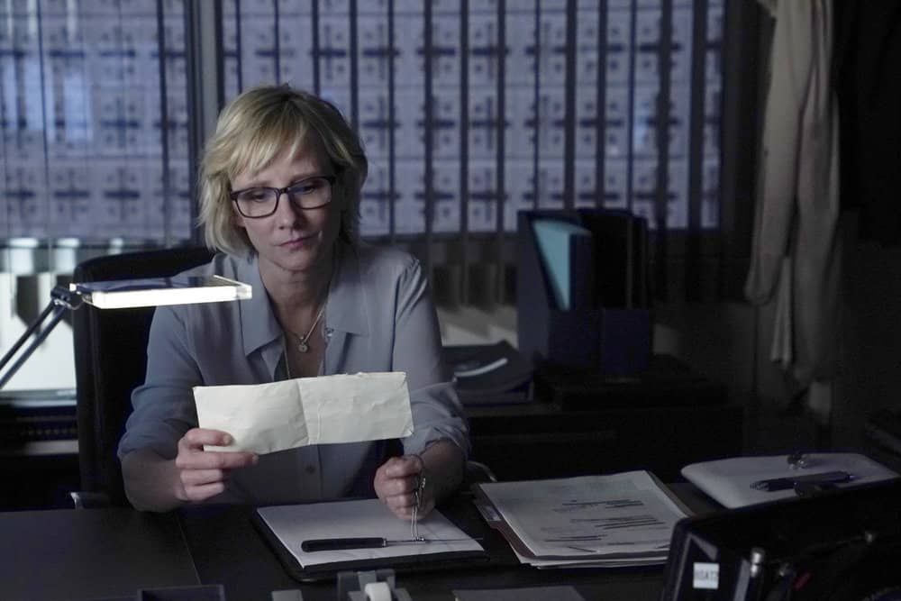 "THE BRAVE -- ""Enhanced Interrogation"" Episode 105 -- Pictured: Anne Heche as Patricia Campbell -- (Photo by: Ursula Coyote/NBC)"