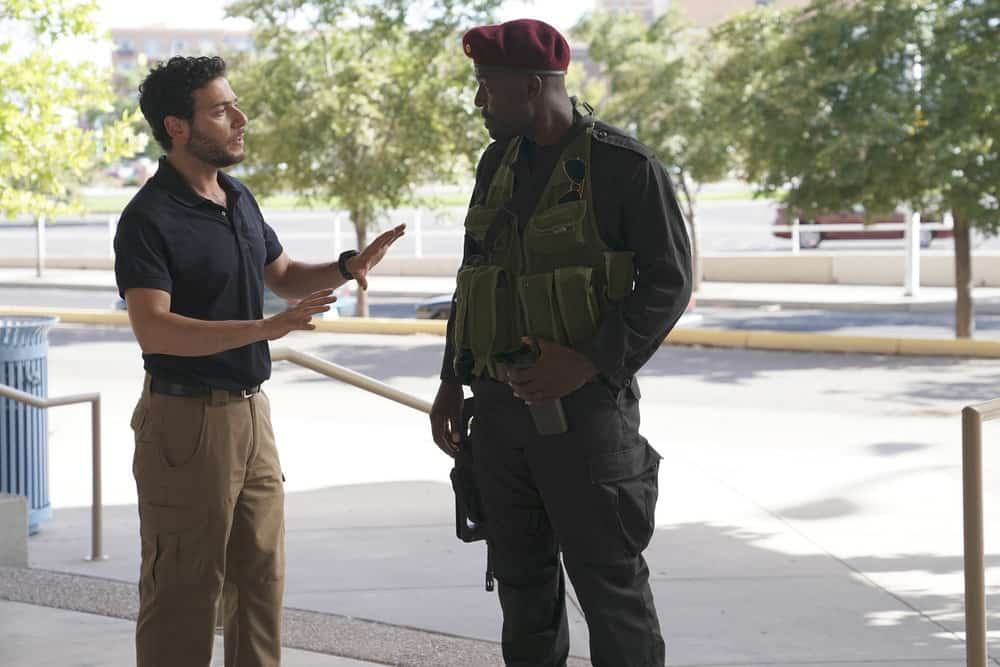 "THE BRAVE -- ""Enhanced Interrogation"" Episode 105 -- Pictured: Hadi Tabbal as Agent Amir Al-Raisani -- (Photo by: Ursula Coyote/NBC)"
