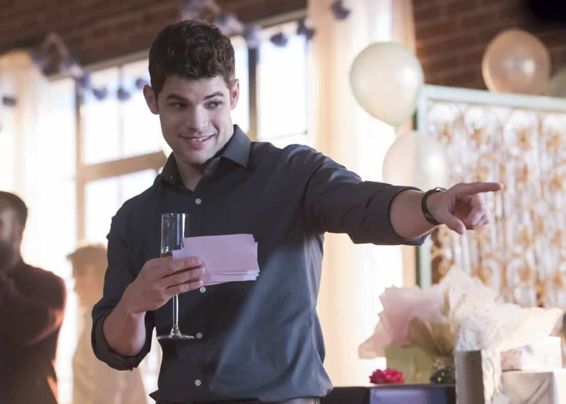 "Supergirl -- ""Far From The Tree"" -- SPG303a_0292.jpg -- Pictured: Jeremy Jordan as Winn Schott-- Photo: Dean Buscher/The CW -- © 2017 The CW Network, LLC. All Rights Reserved"
