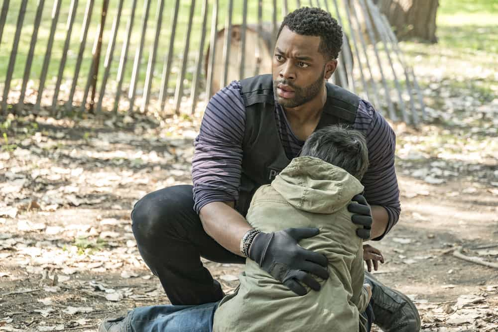 "CHICAGO P.D. -- ""Home"" Episode 505 -- Pictured: LaRoyce Hawkins as Kevin Atwater -- (Photo by: Matt Dinerstein/NBC)"