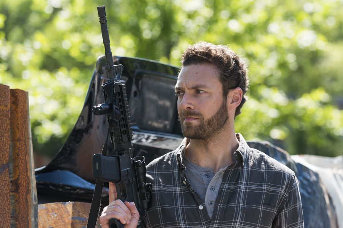 Ross Marquand as Aaron - The Walking Dead _ Season 8, Episode 1 - Photo Credit: Gene Page/AMC