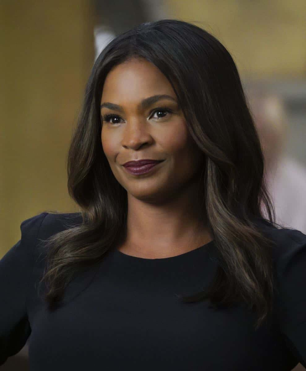 """Mountebank"" -- Pictured: Nia Long (Executive Assistant Director Shay Mosley). Sam goes undercover as a day trader after a prominent investment banker with ties to a Russian oligarch is murdered. Also, one of Callen's aliases is the victim of credit card theft, and Mosley is concerned it signals something bigger, on NCIS: LOS ANGELES, Sunday, Oct. 29 (9:00-10:00 PM, ET/PT) on the CBS Television Network. Photo: Richard Cartwright/CBS ©2017 CBS Broadcasting, Inc. All Rights Reserved."