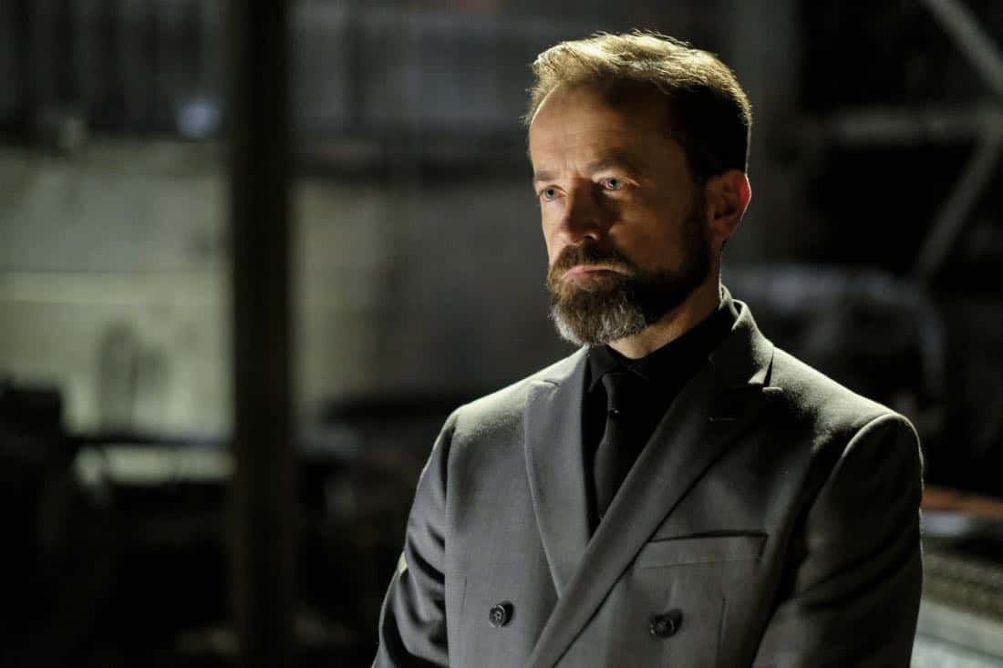 "Arrow -- ""Tribute"" -- Image AR602a_0038b.jpg -- Pictured: David Nykl as Anatoly Knyazev -- Photo: Robert Falconer/The CW -- © 2017 The CW Network, LLC. All Rights Reserved."
