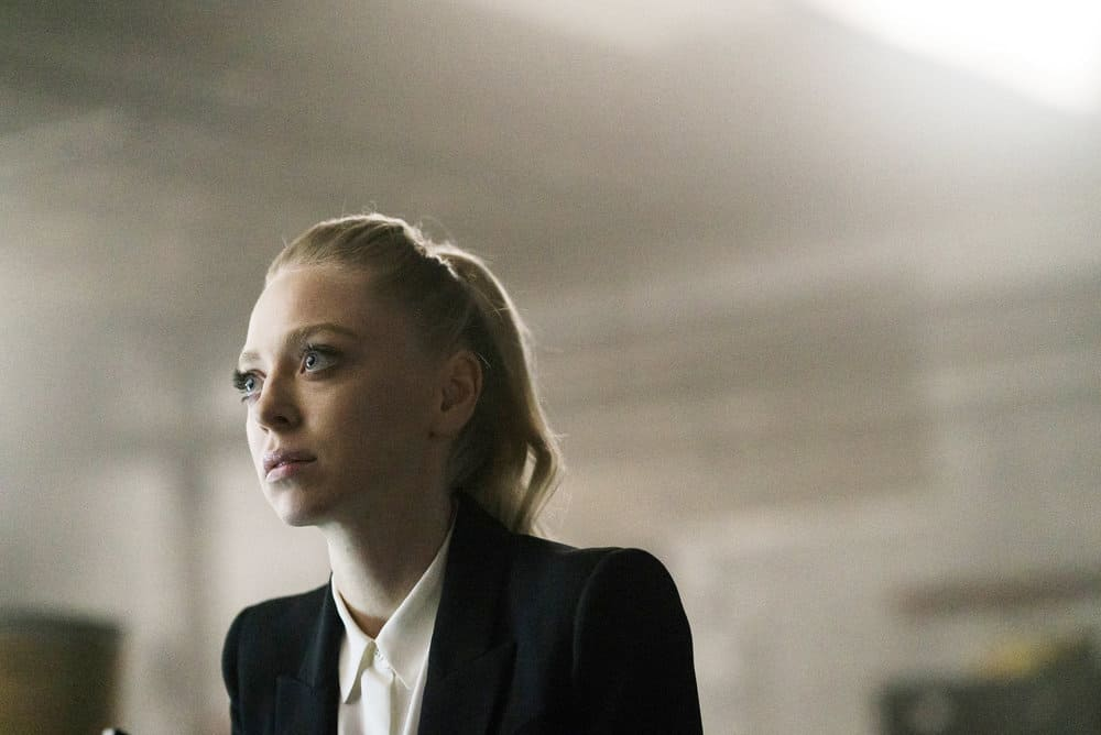 "MR. ROBOT -- ""eps3.2_legacy.so"" Episode 303 -- Pictured: Portia Doubleday as Angela Moss -- (Photo by: Michael Parmelee/USA Network)"