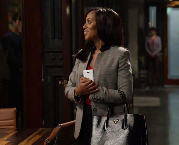 """SCANDAL - """"Lost Girls"""" - While Liv is busy running the free world, the team at QPA works with an unexpected client to solve an important case. At the White House, Mellie prepares for the upcoming Nuclear Summit with President Rashad and Prime Minister Nazari, on """"Scandal,"""" airing THURSDAY, OCTOBER 26 (9:00-10:00 p.m. EDT), on The ABC Television Network. (ABC/Richard Cartwright) KERRY WASHINGTON"""