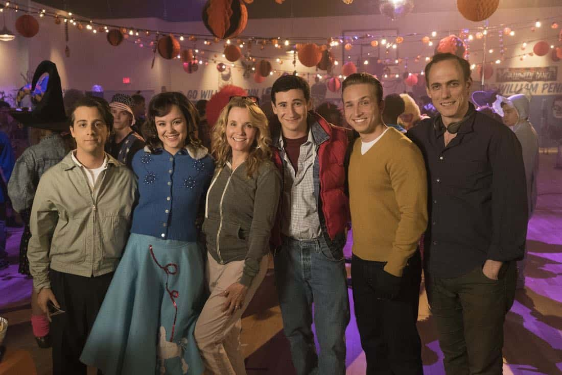 "THE GOLDBERGS - ""Jackie Likes Star Trek"" - After Adam and Jackie disagree over their Halloween costumes, Murray teaches Adam to be a shell of a man to keep Jackie happy; however, it backfires quickly also causing an issue for Murray and Beverly. But they soon all learn to compromise in their own special way, in the Halloween and 100th episode of ""The Goldbergs,"" WEDNESDAY, OCTOBER 25 (8:00-8:30 p.m. EDT), on The ABC Television Network. (ABC/Kelsey McNeal) MATT BUSH, HAYLEY ORRANTIA, LEA THOMPSON (DIRECTOR), SAM LERNER, SHAYNE TOPP, ANDREW SECUNDA (WRITER)"