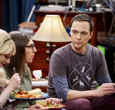 """""""The Proton Regeneration"""" -- Pictured: Sheldon Cooper (Jim Parsons). Sheldon goes head-to-head with Wil Wheaton for the role of the new Professor Proton. Also, Penny steps in to take care of Halley when Bernadette and Wolowitz both wind up on bed rest, when THE BIG BANG THEORY moves to its regular time period, Thursday, Nov. 2 (8:00-8:31 PM, ET/PT), on the CBS Television Network. Photo: Sonja Flemming/CBS ©2017 CBS Broadcasting, Inc. All Rights Reserved."""