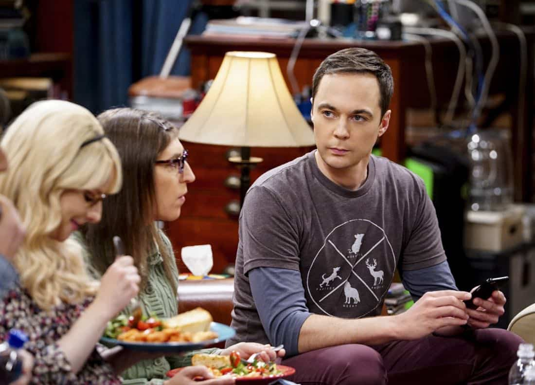 """The Proton Regeneration"" -- Pictured: Sheldon Cooper (Jim Parsons). Sheldon goes head-to-head with Wil Wheaton for the role of the new Professor Proton. Also, Penny steps in to take care of Halley when Bernadette and Wolowitz both wind up on bed rest, when THE BIG BANG THEORY moves to its regular time period, Thursday, Nov. 2 (8:00-8:31 PM, ET/PT), on the CBS Television Network. Photo: Sonja Flemming/CBS ©2017 CBS Broadcasting, Inc. All Rights Reserved."
