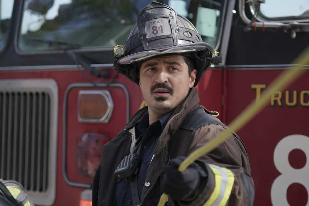 "CHICAGO FIRE -- ""Devil's Bargain"" Episode 605 -- Pictured: Yuri Sardarov as Otis -- (Photo by: Elizabeth Morris/NBC)"