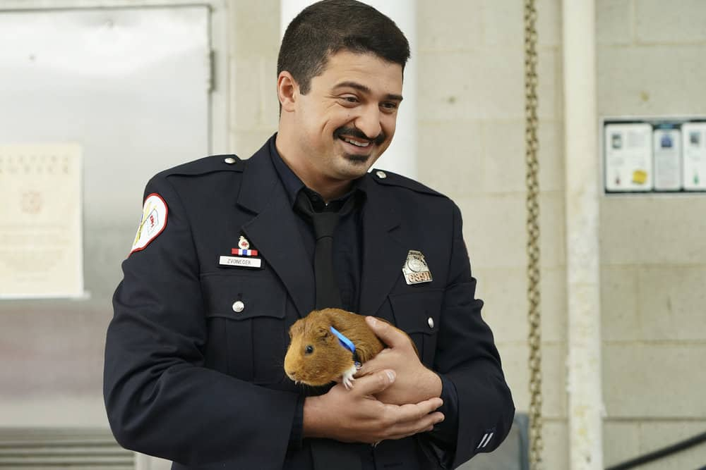 "CHICAGO FIRE -- ""A Breaking Point"" Episode 604 -- Pictured: Yuri Sardarov as Otis -- (Photo by: Elizabeth Morris/NBC)"