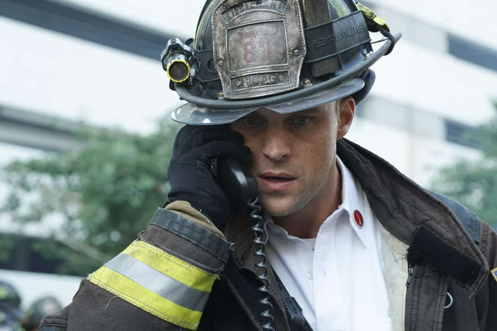 "CHICAGO FIRE -- ""A Breaking Point"" Episode 604 -- Pictured: Jesse Spencer as Matthew Casey -- (Photo by: Elizabeth Morris/NBC)"