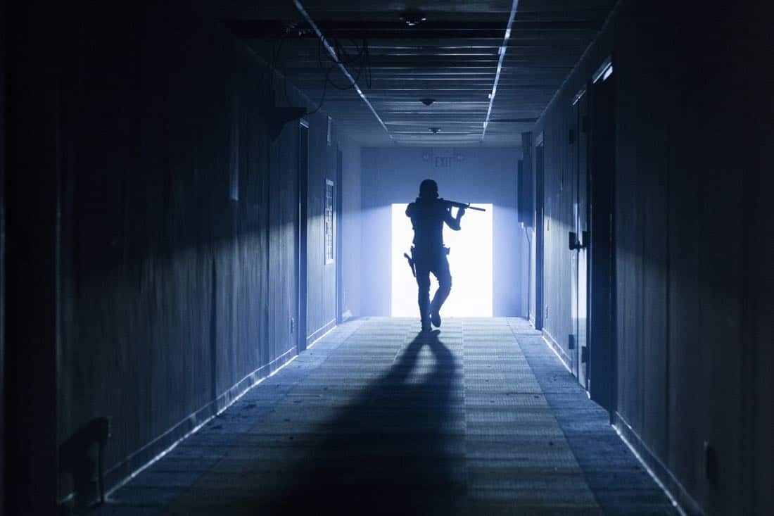 Andrew Lincoln as Rick Grimes - The Walking Dead _ Season 8, Episode 2 - Photo Credit: Jackson Lee Davis/AMC