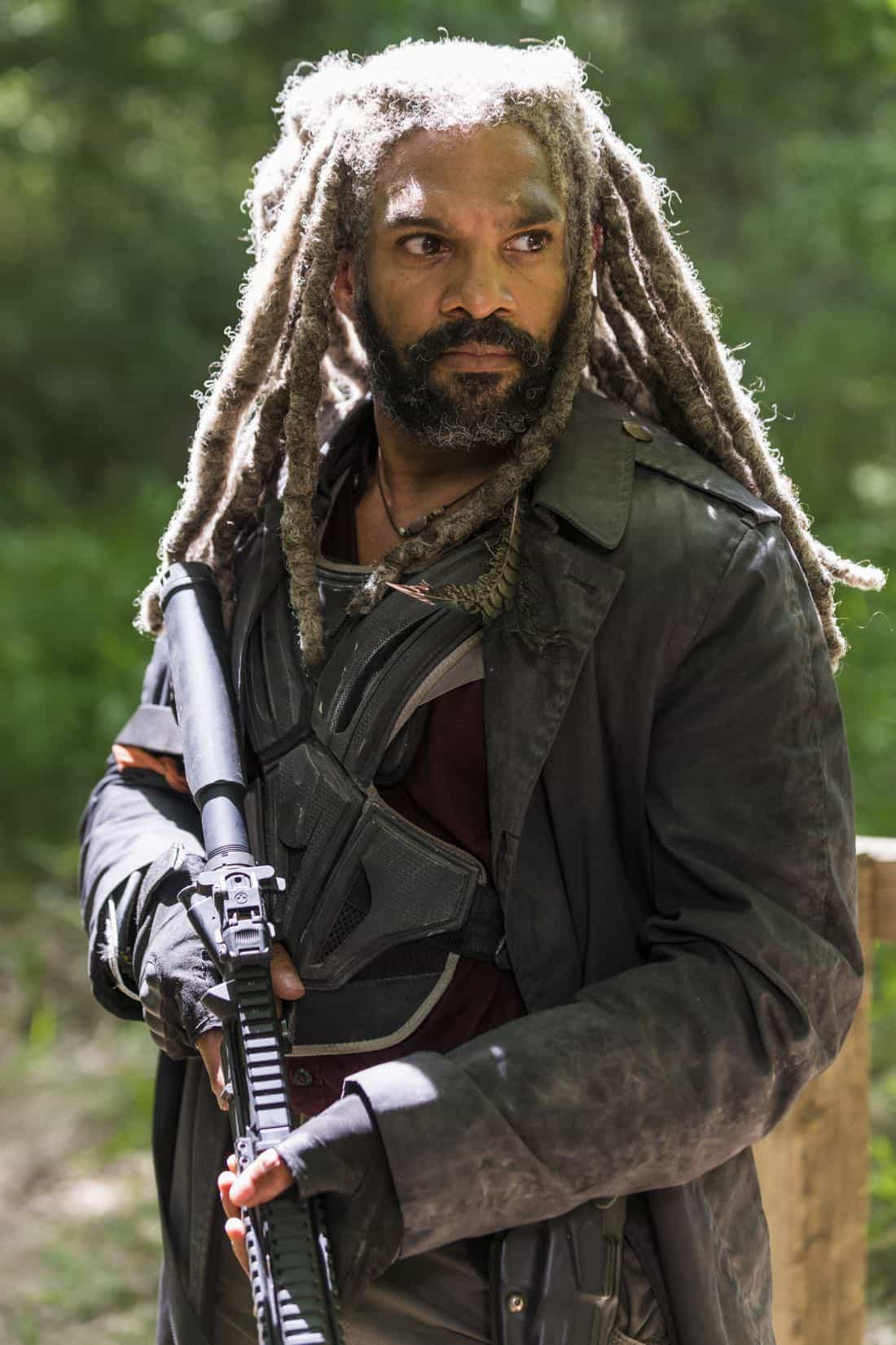 Khary Payton as Ezekiel- The Walking Dead _ Season 8, Episode 2 - Photo Credit: Gene Page/AMC