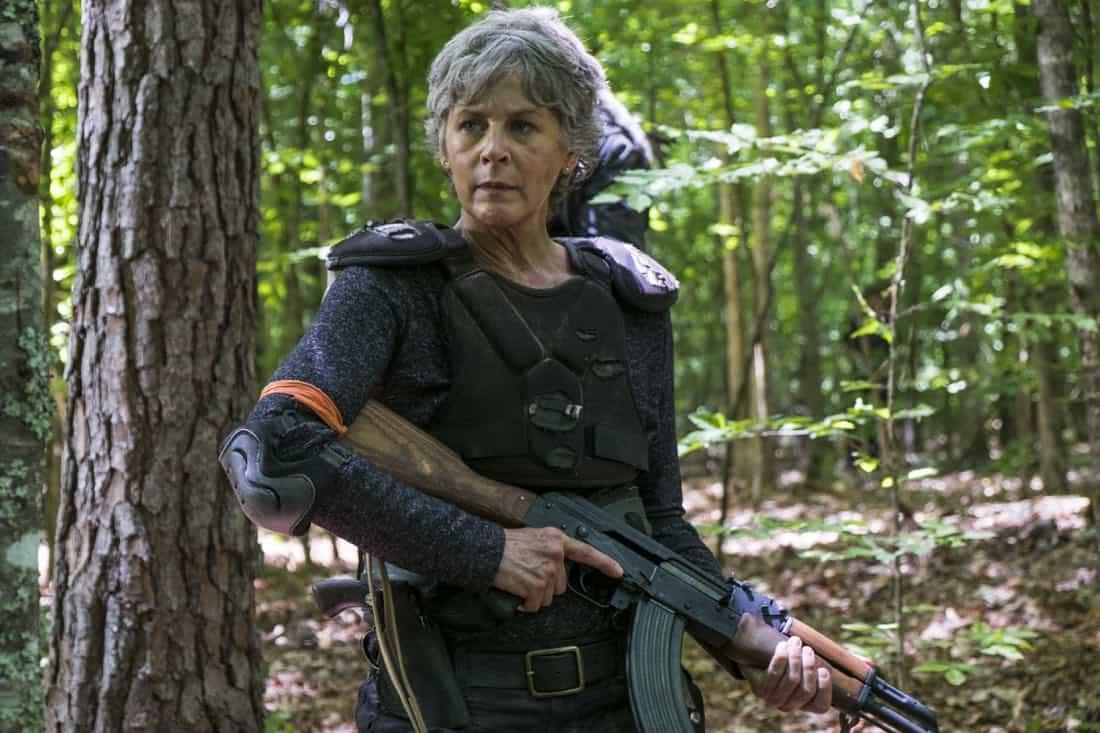 Melissa McBride as Carol Peletier - The Walking Dead _ Season 8, Episode 2 - Photo Credit: Gene Page/AMC