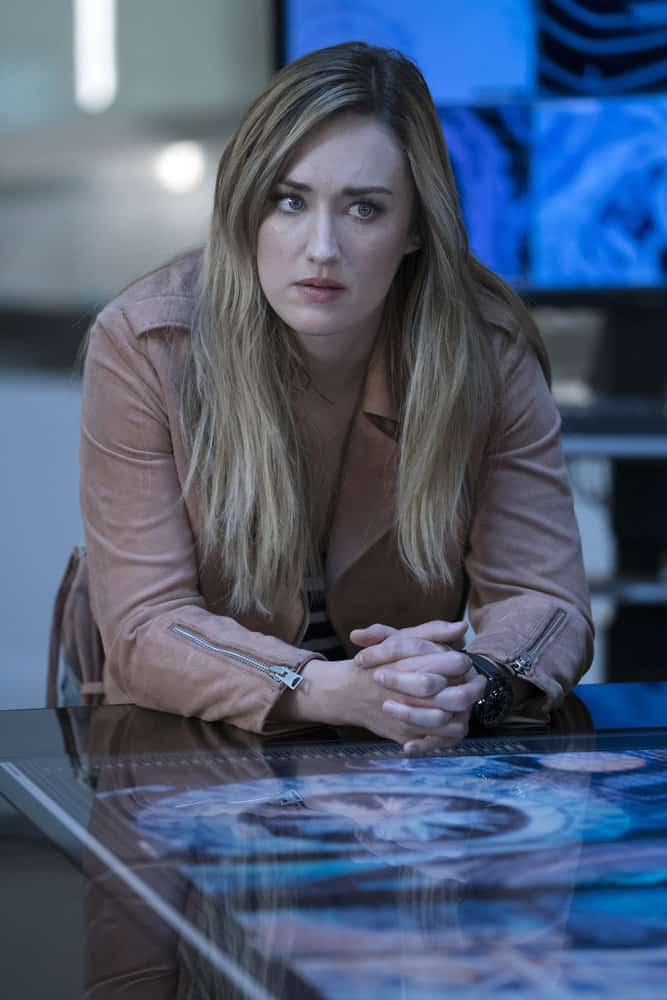 "BLINDSPOT -- ""Back to the Grind"" Episode 301 -- Pictured: Ashley Johnson as Patterson -- (Photo by: Peter Kramer/NBC)"