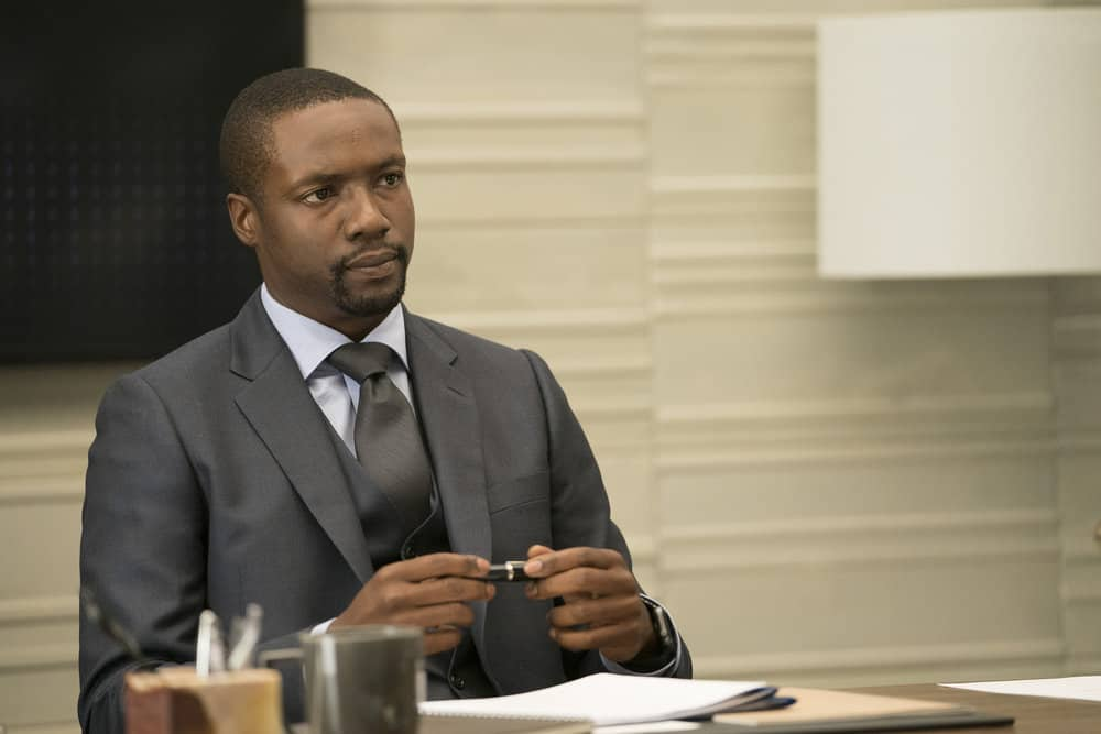 "BLINDSPOT -- ""Back to the Grind"" Episode 301 -- Pictured: Rob Brown as Edgar Reade -- (Photo by: Peter Kramer/NBC)"