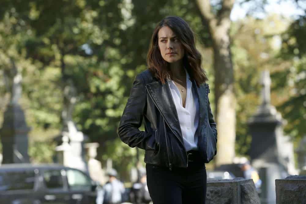 "THE BLACKLIST -- ""The Travel Agency"" Episode 506 -- Pictured: Megan Boone as Elizabeth Keen -- (Photo by: Will Hart/NBC)"
