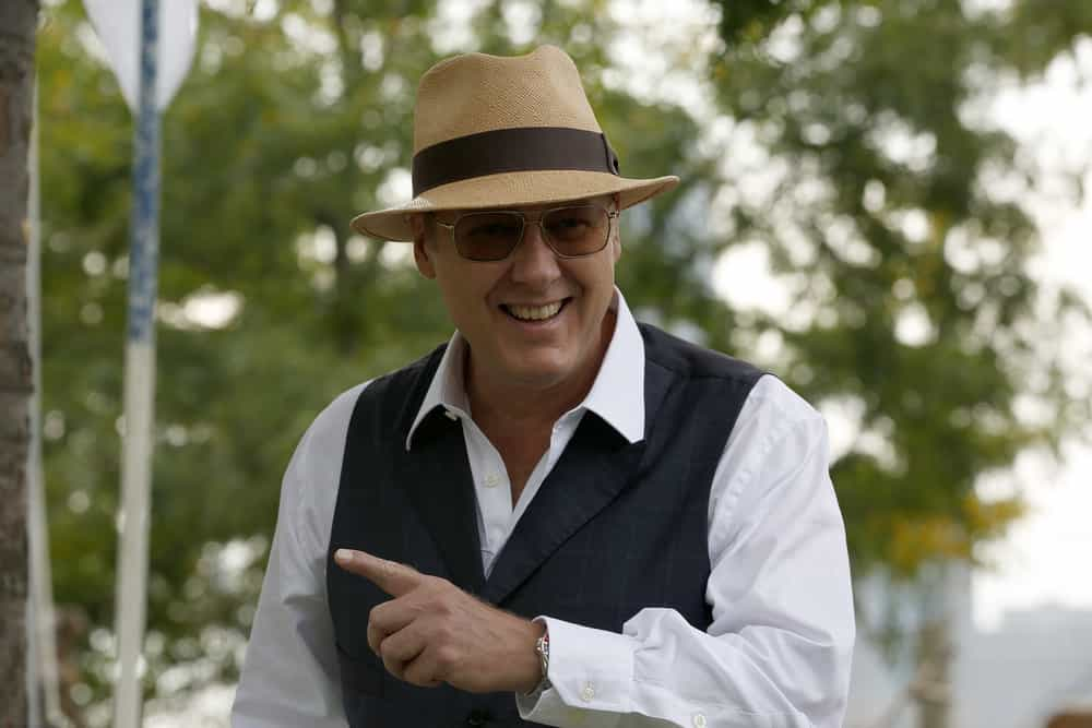 """THE BLACKLIST -- """"The Travel Agency"""" Episode 506 -- Pictured: James Spader as Raymond """"Red"""" Reddington -- (Photo by: Will Hart/NBC)"""