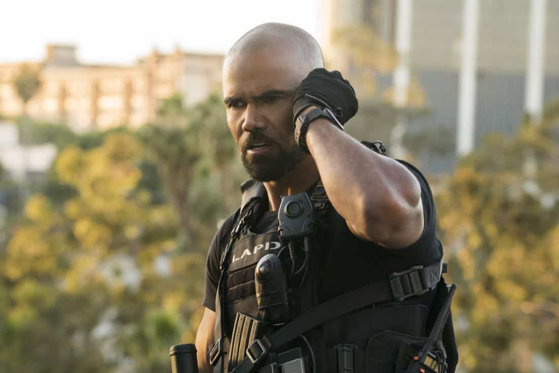 """Pilot"" -- A locally born SWAT sergeant, former Marine Daniel ""Hondo"" Harrelson (Shemar Moore), is newly tasked to run a specialized tactical unit that is the last stop in law enforcement in Los Angeles, on the series premiere of S.W.A.T., Thursday, Nov. 2 (10:00-11:00, ET/PT) on the CBS Television Network. Shemar Moore, Stephanie Sigman, Alex Russell, Jay Harrington, Lina Esco, Kenny Johnson, Peter Onorati and David Lim star in the police drama inspired by the television series and feature film. Pictured: Shemar Moore as Daniel ""Hondo"" Harrelson.     Photo: Bill Inoshita/CBS ©2017 CBS Broadcasting, Inc. All Rights Reserved"