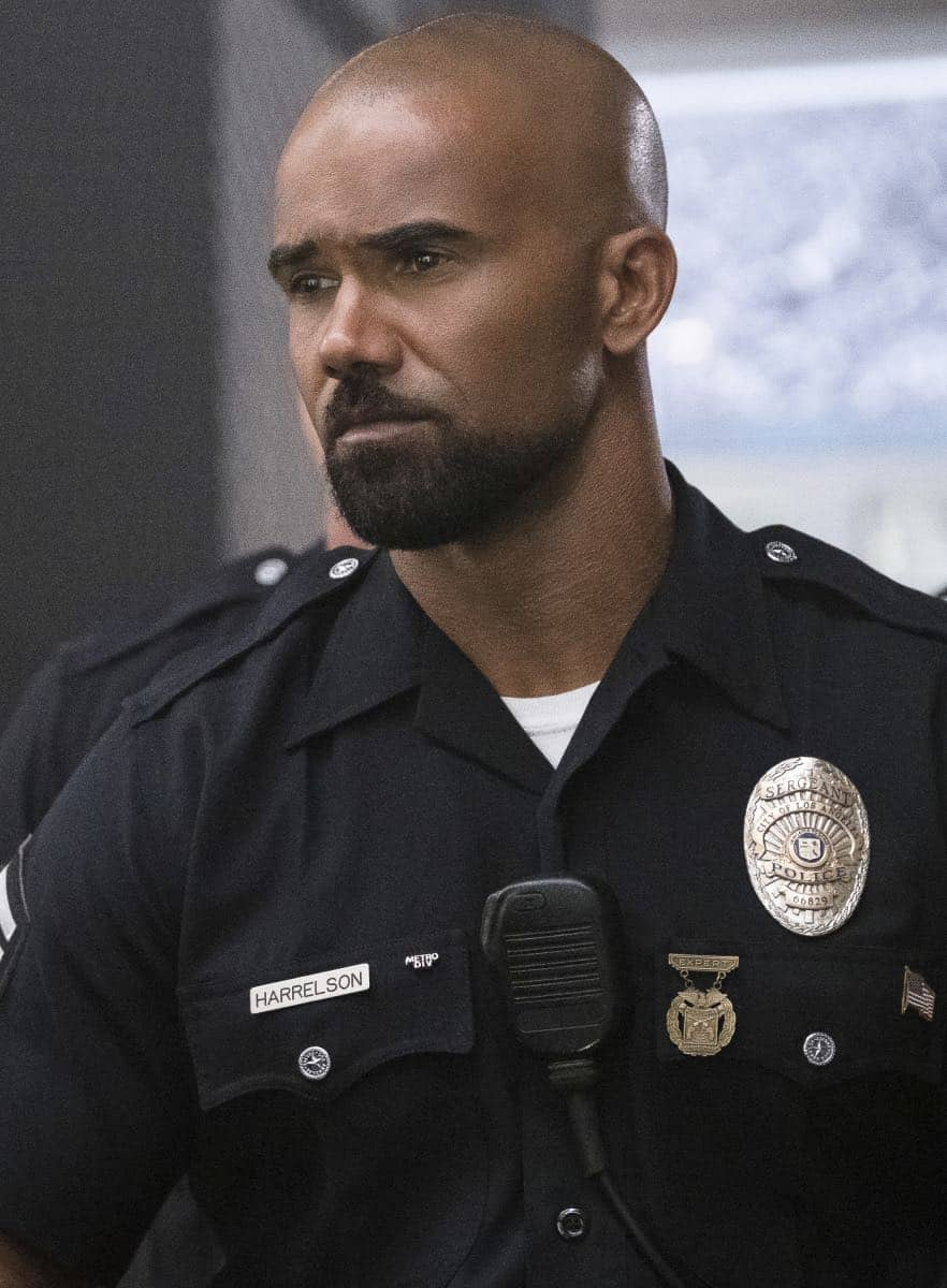 """Pilot"" -- A locally born SWAT sergeant, former Marine Daniel ""Hondo"" Harrelson (Shemar Moore), is newly tasked to run a specialized tactical unit that is the last stop in law enforcement in Los Angeles, on the series premiere of S.W.A.T., Thursday, Nov. 2 (10:00-11:00, ET/PT) on the CBS Television Network. Shemar Moore, Stephanie Sigman, Alex Russell, Jay Harrington, Lina Esco, Kenny Johnson, Peter Onorati and David Lim star in the police drama inspired by the television series and feature film. Pictured: Shemar Moore as Daniel ""Hondo"" Harrelson.    Photo: Jessica Brooks/CBS ©2017 CBS Broadcasting, Inc. All Rights Reserved"