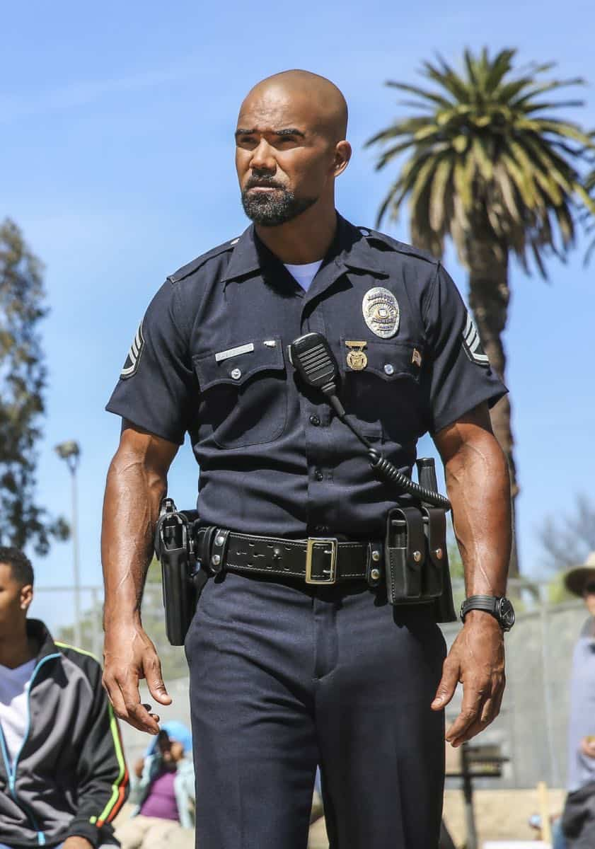 S.W.A.T., a new drama inspired by the television series and the feature film, stars Shemar Moore (pictured) as a locally born and raised S.W.A.T. sergeant newly tasked to run a specialized tactical unit that is the last stop in law enforcement in Los Angeles.  This fall, S.W.A.T. will be broadcast Thursdays (10:00-11:00 PM, ET/PT) beginning Nov. 2, after football concludes, on the CBS Television Network. Photo: Michael Yarish/CBS ©2017 CBS Broadcasting, Inc. All Rights Reserved