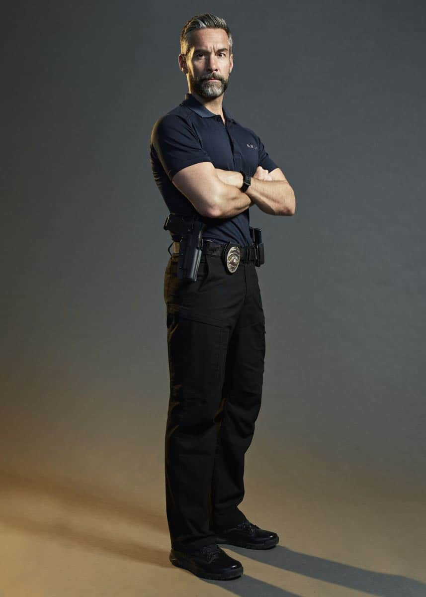 Jay Harrington of the CBS series S.W.A.T. Photo Credit: Smallz + Raskind/Sony Pictures Television © 2017 Sony Pictures Television