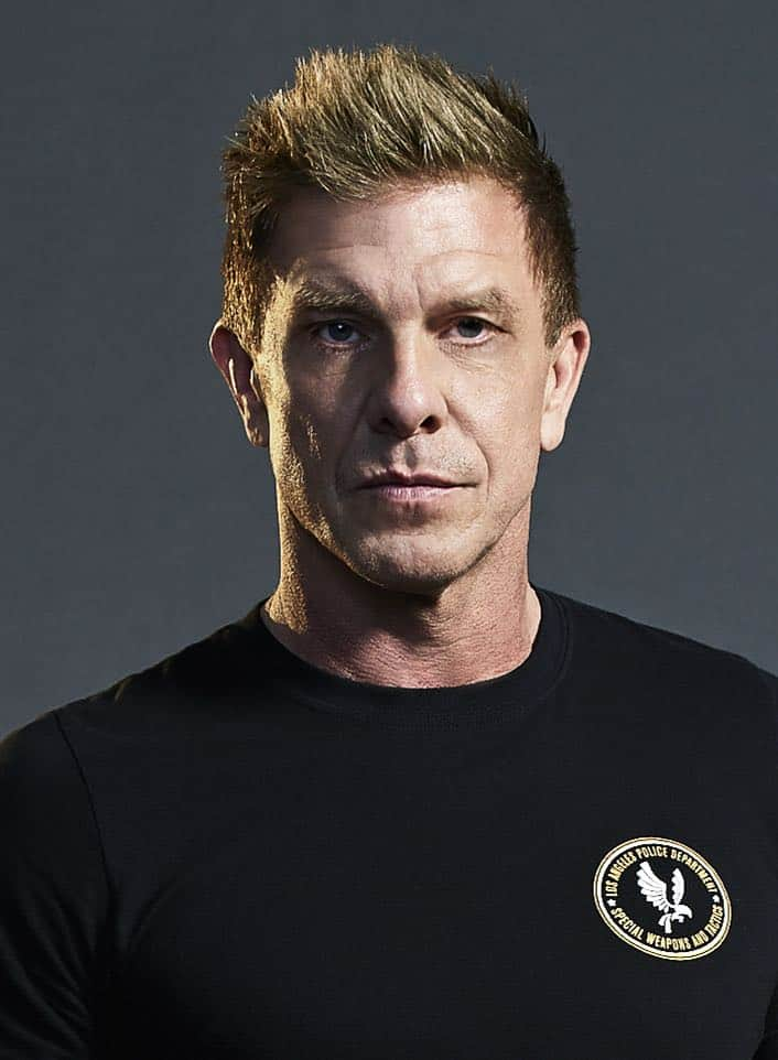 Kenny Johnson of the CBS series S.W.A.T. Photo Credit: Smallz + Raskind/Sony Pictures Television © 2017 Sony Pictures Television