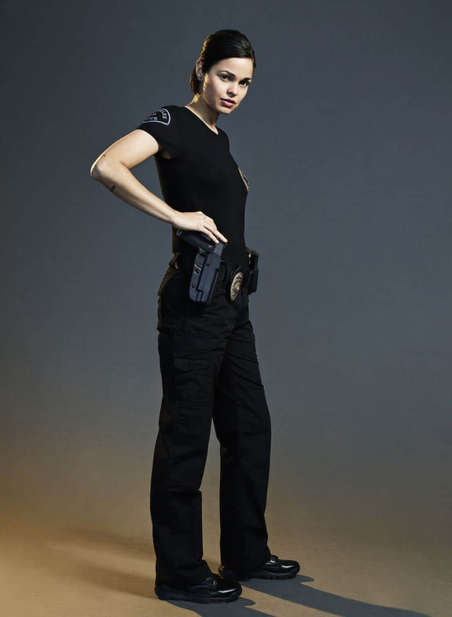 Lina Esco of the CBS series S.W.A.T. Photo Credit: Smallz + Raskind/Sony Pictures Television © 2017 Sony Pictures Television