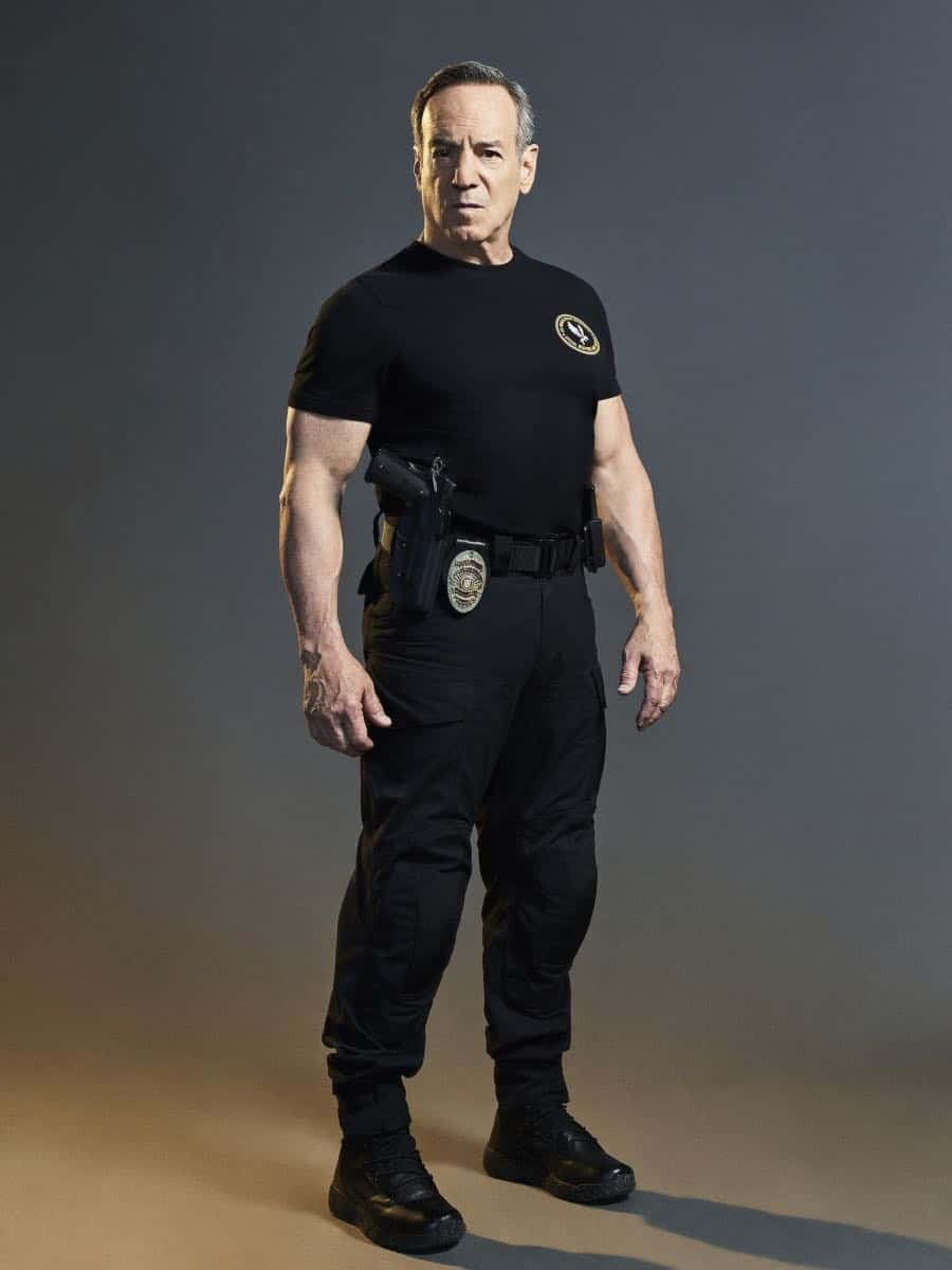 Peter Onorati of the CBS series S.W.A.T. Photo Credit: Smallz + Raskind/Sony Pictures Television © 2017 Sony Pictures Television