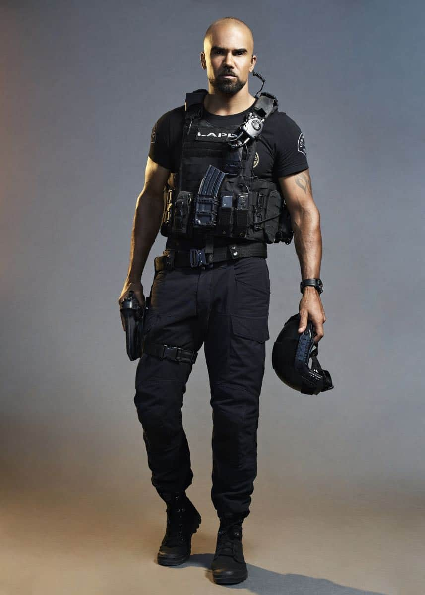 Shemar Moore of the CBS series S.W.A.T. Photo Credit: Smallz + Raskind/Sony Pictures Television © 2017 Sony Pictures Television