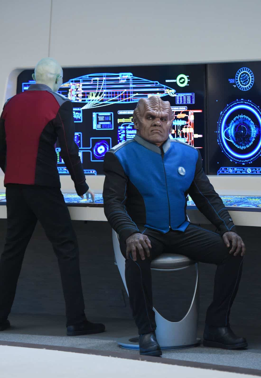 """THE ORVILLE:  Peter Macon in the """"Majority Rule"""" episode of THE ORVILLE airing Thursday, Oct. 26 (9:01-10:00 PM ET/PT) on FOX.  ©2017 Fox Broadcasting Co. Cr:  Michael Becker/FOX"""