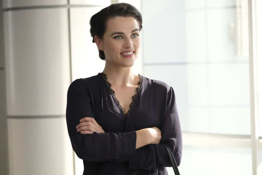 """Supergirl -- """"The Faithful"""" -- SPG304c_0088.jpg ñ Pictured: Katie McGrath as Lena Luthor l -- Photo: Bettina Strauss/The CW -- © 2017 The CW Network, LLC. All Rights Reserved"""