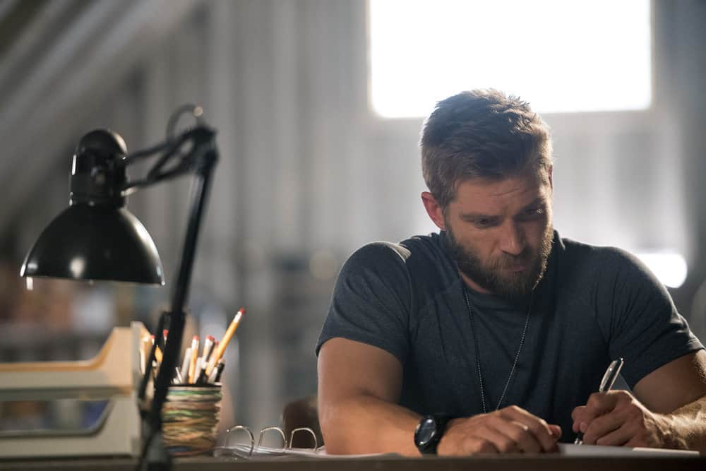 "THE BRAVE -- ""It's All Personal"" Episode 107 -- Pictured: Mike Vogel as Captain Adam Dalton -- (Photo by: Lewis Jacobs/NBC)"