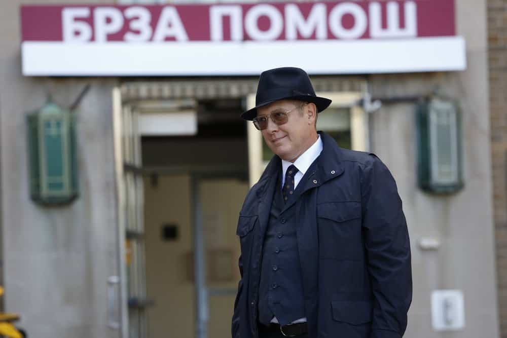 """THE BLACKLIST -- """"The Kilgannon Corp. (#48)"""" Episode 507 -- Pictured: James Spader as Raymond """"Red"""" Reddington -- (Photo by: Will Hart/NBC)"""