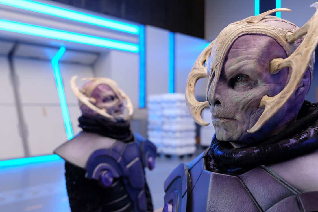 "THE ORVILLE:  in the ""Cupid's Dagger"" episode of THE ORVILLE airing Thursday, Nov. 9 (9:01-10:00 PM ET/PT) on FOX.  ©2017 Fox Broadcasting Company.  Cr:  Ray Mickshaw/FOX"
