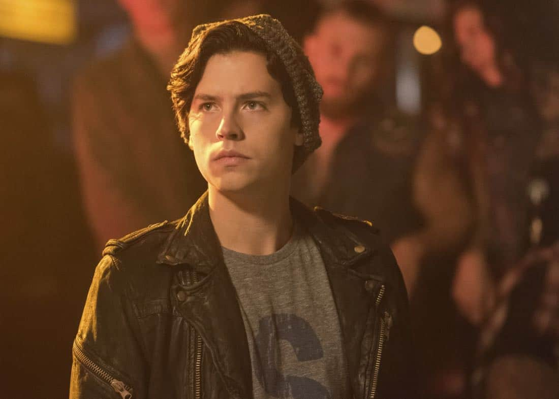 "Riverdale -- ""Chapter Eighteen: When A Stranger Calls"" -- Image Number: RVD205a_0136.jpg -- Pictured: Cole Sprouse as Jughead Jones -- Photo: Dean Buscher/The CW -- © 2017 The CW Network. All Rights Reserved"