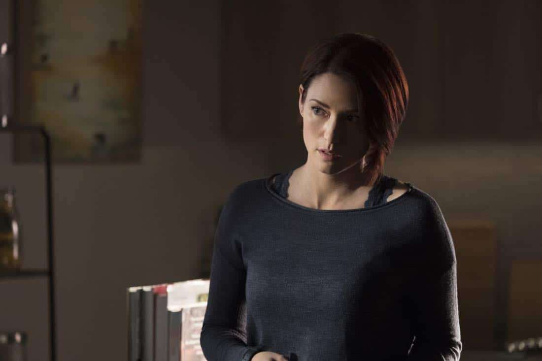 """Supergirl -- """"Damage"""" -- SPG305a_0082.jpg -- Pictured: Chyler Leigh as Alex Danvers -- Photo: Jeff Weddell/The CW -- © 2017 The CW Network, LLC. All Rights Reserved"""