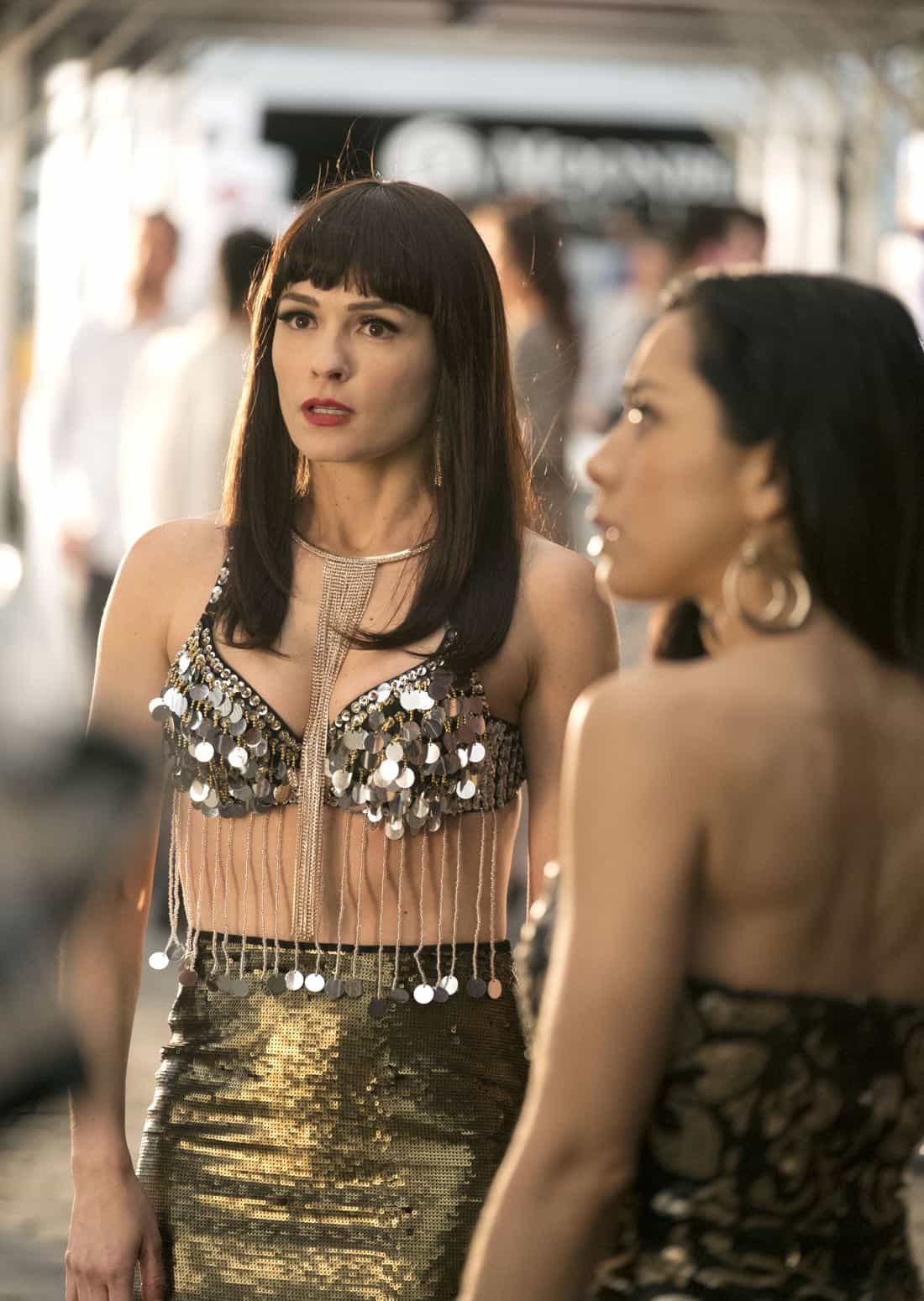 """LUCIFER: L-R: Guest star Lindsay Gort and Aimee Garcia in the """"Vegas With Some Radish"""" episode of LUCIFER airing Monday, Nov. 6 (8:00-9:00 PM ET/PT) on FOX. CR: Michael Courtney/FOX"""