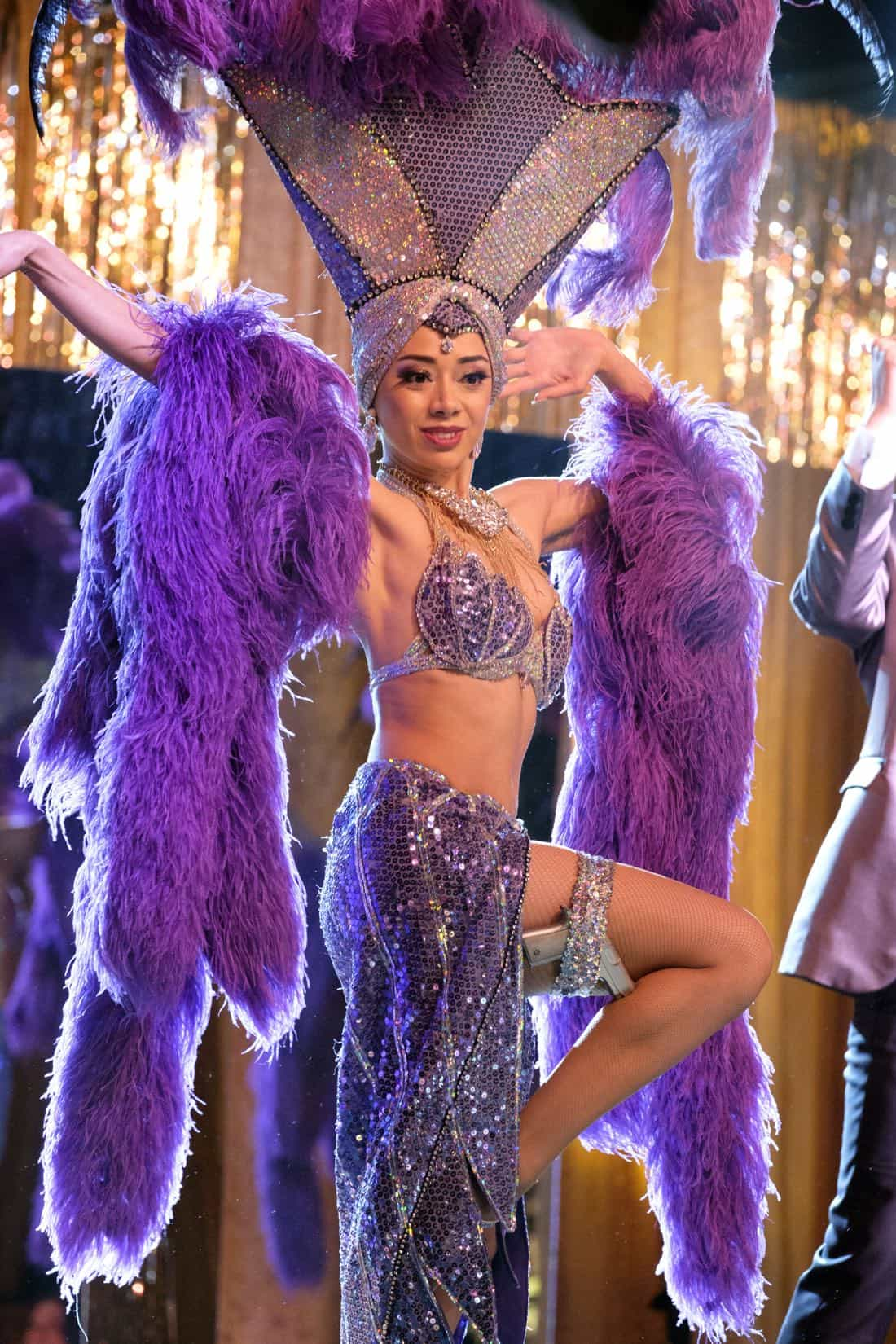 """LUCIFER: Aimee Garcia in the """"Vegas With Some Radish"""" episode of LUCIFER airing Monday, Nov. 6 (8:00-9:00 PM ET/PT) on FOX. CR: Michael Courtney/FOX"""