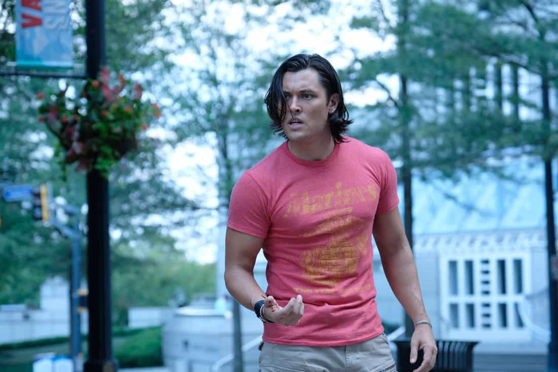 """THE GIFTED:  L-R: Guest star Eric Hunter and Blair Redford in the """"got your siX"""" episode of THE GIFTED airing Monday, Nov. 6 (9:00-10:00 PM ET/PT) on FOX.  ©2017 Fox Broadcasting Co.  Cr:  Eliza Morse/FOX"""