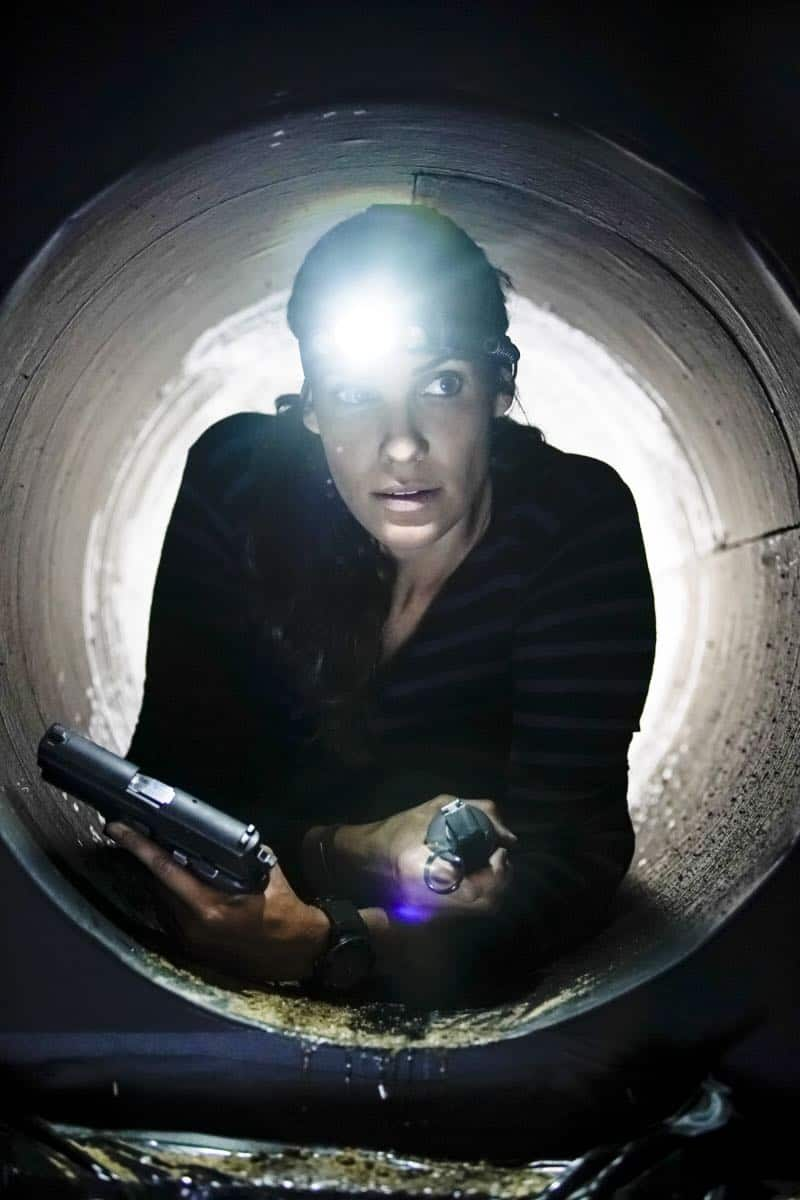 """""""The Silo"""" – Pictured: Daniela Ruah (Special Agent Kensi Blye). After an Air Force captain Kensi dated a decade ago breaches a missile launch facility, she is transported to the location to help thwart the use of nuclear weapons, on NCIS: LOS ANGELES, Sunday, Nov. 12 (9:00-10:00 PM, ET/PT) on the CBS Television Network. Photo: Erik Voake/CBS ©2017 CBS Broadcasting, Inc. All Rights Reserved."""