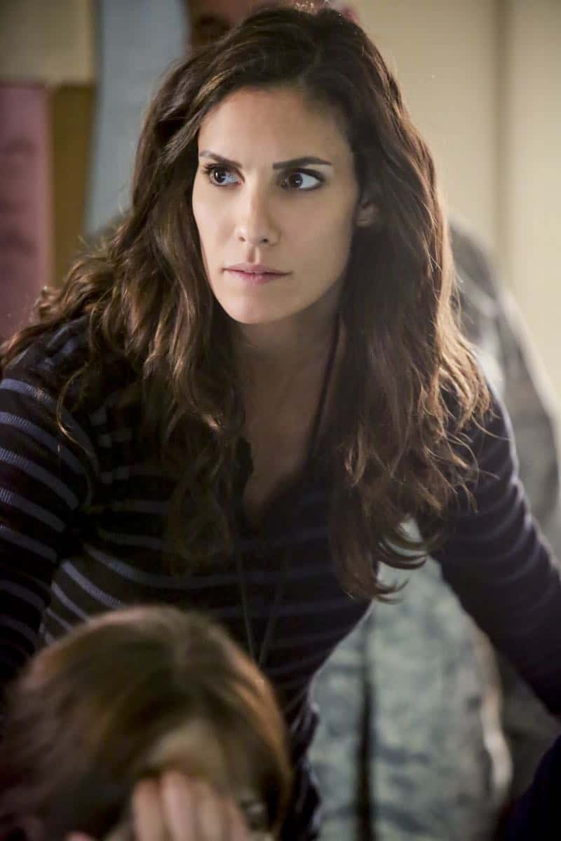 """""""The Silo"""" – Pictured: Daniela Ruah (Special Agent Kensi Blye). After an Air Force captain Kensi dated a decade ago breaches a missile launch facility, she is transported to the location to help thwart the use of nuclear weapons, on NCIS: LOS ANGELES, Sunday, Nov. 12 (9:00-10:00 PM, ET/PT) on the CBS Television Network. Photo: Bill Inoshita/CBS ©2017 CBS Broadcasting, Inc. All Rights Reserved."""