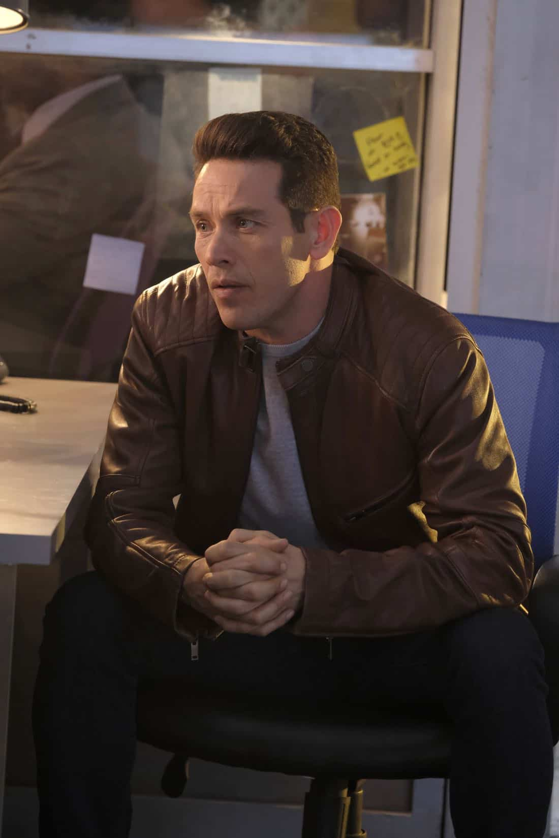 "LUCIFER: Kevin Alejandro in the ""Off The Record"" episode of LUCIFER airing Monday, Nov. 13 (8:00-9:00 PM ET/PT) on FOX. CR:  Michael Courtney/FOX"