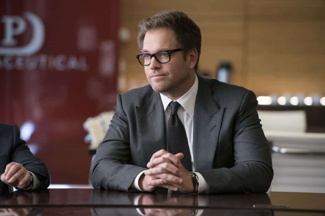 """""""The Devil, The Detail""""-- Bull agrees to help the parents of a former employee sue a drug company when their son commits suicide during a drug trial. However, the task is complicated when the company brings in their own trial scientist, Arti Cander (Emmy Award winner Archie Panjabi), on BULL, Tuesday, Nov 14 (9:00-10:00 PM, ET/PT) on the CBS Television Network. Pictured: Michael Weatherly as Dr. Jason Bull  Photo: David Giesbrecht/CBS ©2017 CBS Broadcasting, Inc. All Rights Reserved"""