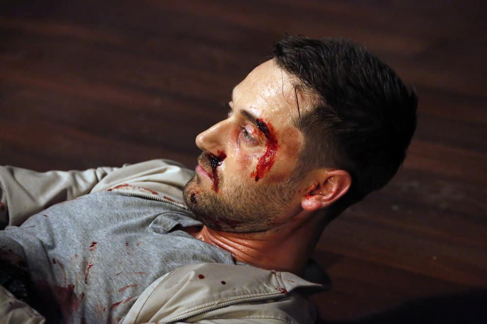 """THE BLACKLIST -- """"Ian Garvey: #13"""" Episode 508 -- Pictured: Ryan Eggold as Tom Keen -- (Photo by: Will Hart/NBC)"""