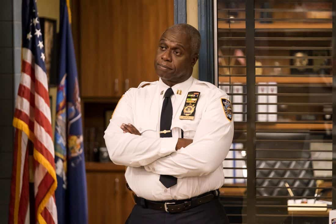 "BROOKLYN NINE-NINE: Andre Braugher in the ""The Venue"" episode of BROOKLYN NINE-NINE airing Tuesday, Nov. 7 (9:30-10:00 PM ET/PT) on FOX. CR: John P. Fleenor/FOX"